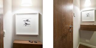Mieszkanie - Warszawa - 45 m2: styl , w kategorii Korytarz, przedpokój i schody zaprojektowany przez Mprojekt