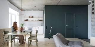 Livings de estilo ecléctico por INT2architecture