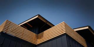 modern Houses by 有限会社クリエデザイン/CRÉER DESIGN Ltd.