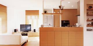 wanも楽しいリフォームⅡ: Style is Still Living ,inc.が手掛けたキッチンです。
