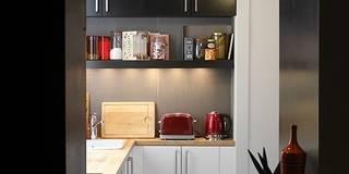 Appartement à Colombes: Cuisine de style de style Moderne par ATELIER 105 - Carthagéna Virginie