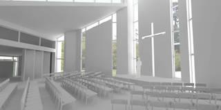 Sedi per eventi in stile  di DUA Architecture LLP