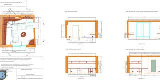 Salle de détente et de travail: Salon de style de style eclectique par Batbau'bio