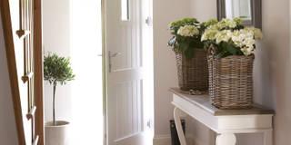 Emma & Eve Interior Design Ltd: kırsal tarz tarz Koridor, Hol & Merdivenler