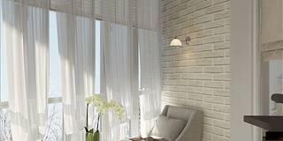Дизайн проект квартиры в Коломягах: Гостиная в . Автор – MoRo