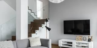 Salas de estilo escandinavo por stabrawa.pl