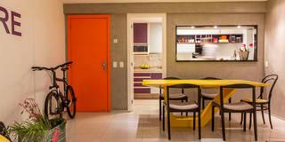 KP 1401: Salas de jantar modernas por POCHE ARQUITETURA