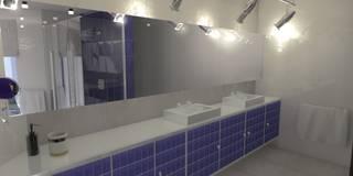 Łazienka: styl , w kategorii Łazienka zaprojektowany przez Marta Kożuch Interior Design