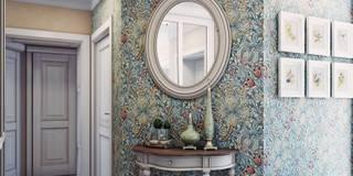 Couloir, Entrée & Escaliers de style de stile Rural par Анна Теклюк