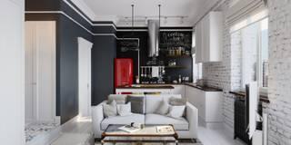 Aiya Lisova Design의  주방