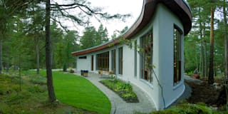 Banana House: styl nowoczesne, w kategorii Domy zaprojektowany przez Duende Dominika Brodnicka