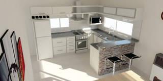 Diseño de Cocina - Comedor:  de estilo  por Somos Arquitectura