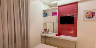 Habitaciones para niños de estilo moderno por Flávio Monteiro Arquitetos Associados