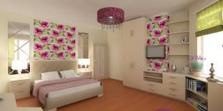 Комната для молодой девушки. Сочи: Спальни в . Автор – Lidiya Goncharuk