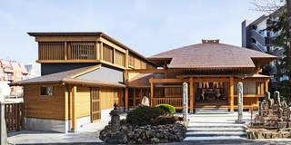 来迎寺 庫裏: 山本想太郎設計アトリエが手掛けた家です。