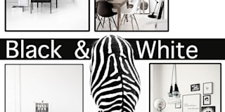 Moodboard Black & White:   door Burosannies