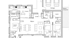 Casas de estilo moderno por ATELIER POTENTIEL