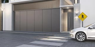 Casas de estilo moderno por alfa studio arquitectura