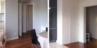 Restructuration d'un appartement de 80m² à Neuilly sur Seine:  de style  par Delphine Gaillard Decoration