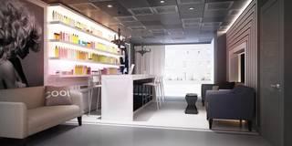 GlamVie. Salon: Коммерческие помещения в . Автор – KAPRAN DESIGN (interior workshop)