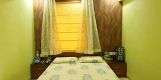 Residence.: modern Bedroom by Rita Mody Joshi & Associates