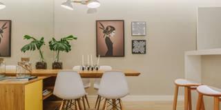 P. HOUSE: Salas de jantar modernas por STUDIO LN