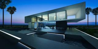T house | 300m2: Дома в . Автор –  Aleksandr Zhydkov Architect