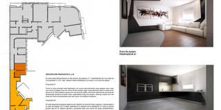 modern Kitchen by Estudio de Arquitectura e Interiorismo