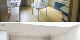 HOUSE G&S: Cucina in stile in stile Moderno di GINO SPERA ARCHITETTO