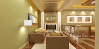 Living Area designs: modern Living room by Pancham Interiors
