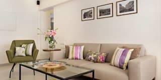 JANKI KUTIR APARTMENT: modern Living room by The design house