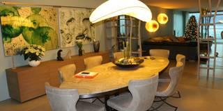 Salas de jantar modernas por DF Design