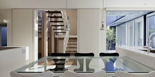 Столовые комнаты в . Автор – 有限会社 橋本設計室