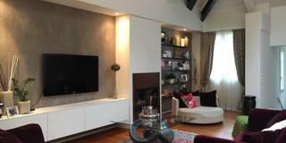 Salas / recibidores de estilo moderno por bilune studio