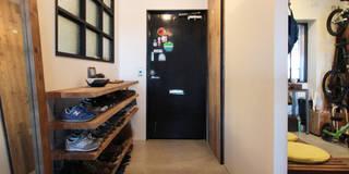 vintage×sozai: nuリノベーションが手掛けた玄関・廊下・階段です。