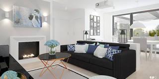 Salon z marokańskim akcentem: styl , w kategorii Salon zaprojektowany przez Klaudia Tworo Projektowanie Wnętrz