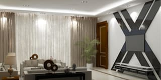 Interior Design: modern Living room by The Silversea