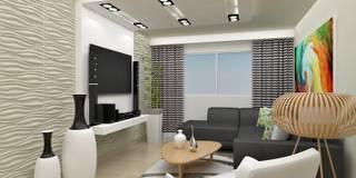 Soggiorno in stile in stile Moderno di om-a arquitectura y diseño
