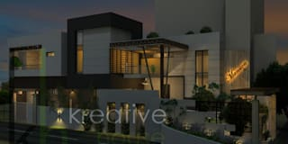 modern Houses by KREATIVE HOUSE