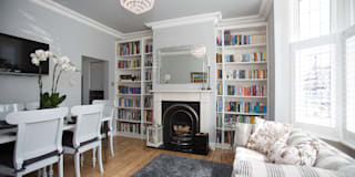 Lounge After:   by Millennium Interior Designers
