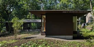 外観~041軽井沢Mさんの家: atelier137 ARCHITECTURAL DESIGN OFFICEが手掛けた家です。