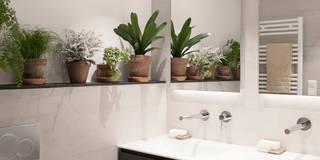 Baños de estilo moderno por Bade interiorismo