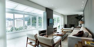 ห้องนั่งเล่น by L2 Arquitetura