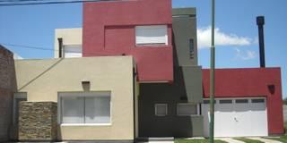 Vivienda unifamiliar en Puán: Casas de estilo moderno por G-R Arquitectura