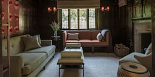 East Sheen - Snug or Family Room: eclectic Living room by Roselind Wilson Design