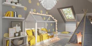 Che_01 Pokój Liwii: styl , w kategorii Pokój dziecięcy zaprojektowany przez InSign Pracownia Projektowa Karolina Wójcik