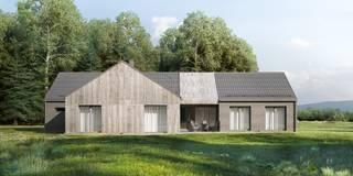 Projekty domów - House x44 - DomPP.pl: styl nowoczesne, w kategorii Domy zaprojektowany przez Majchrzak Pracownia Projektowa