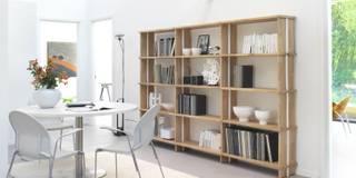 Nikka WOODY la prima rivoluzionaria libreria modulare ecologica:  in stile  di Piarotto.com -  Mobilie snc
