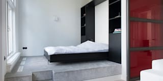 industrial Bedroom by IJzersterk interieurontwerp