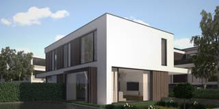 Woonhuis EGEJ: moderne Huizen door 2architecten